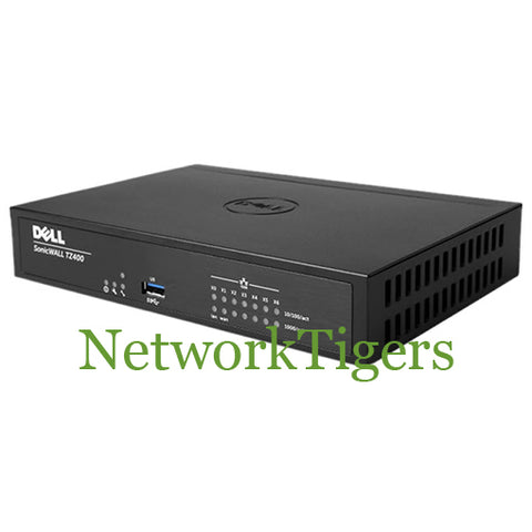 SonicWALL 01-SSC-0213 TZ 400 1.3 Gbps Enhanced Firewall - NetworkTigers