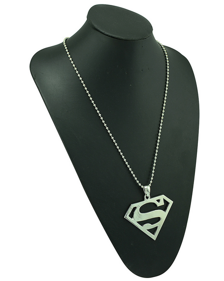 Stainless steel superman logo pendants necklace my niche deals stainless steel superman logo pendants necklace mozeypictures Gallery
