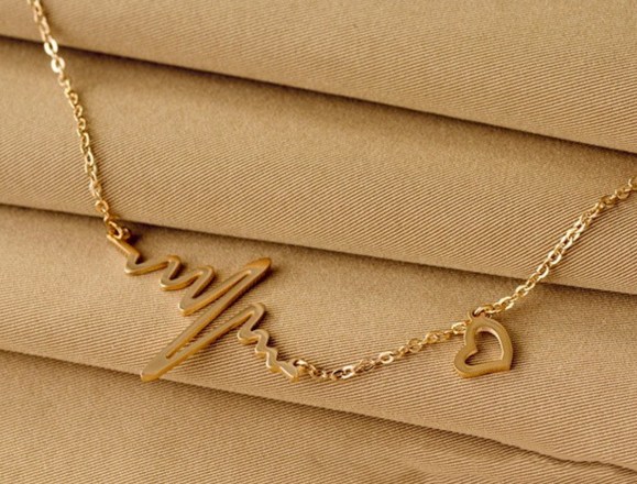 Ekg Charm Necklace Free Shipping My Niche Deals