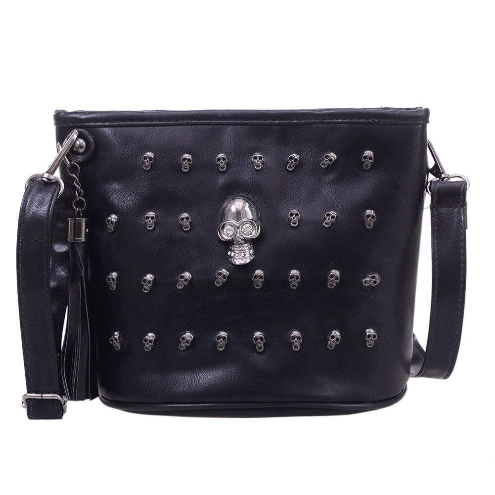 54e6548cb2f5 Skull Design Messenger Bag - My Niche Deals