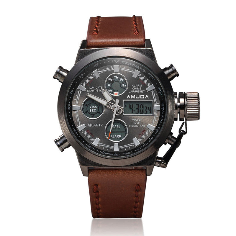 watches products my niche shock mens deals business dropship strap fashion real homme men eyki montre casual new male quartz leather s bracelet vigour