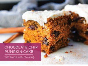 Autumn's So Sweet! Try Our Pumpkin Cake with Brown Butter Frosting