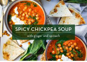 Cool Nights = Warm Soup! Try Our Spicy Chickpea Soup