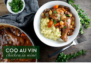 Easy-to-Make Coq au Vin! A Classic Comfort Food