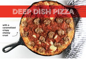Double Down on Deep Dish Pizza!