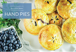 Make Your Own Summer Blueberry Hand Pies