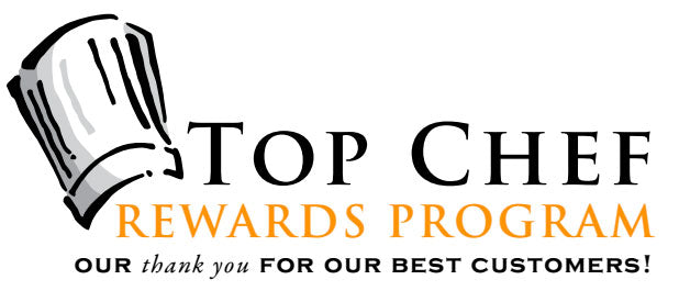 Top Chef Rewards Program