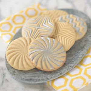 Nordic Ware Geo Cookie Stamps