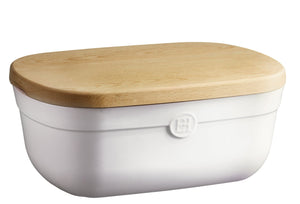 Emile Bread Box, Cream