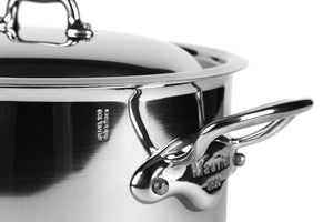 Mauviel M'Cook 9-Piece Set, Stainless Steel