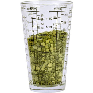 Kolder Glass Mix-in-Measure, 2 Cup