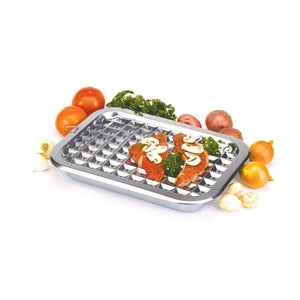 Norpro Stainless Steel Broil/Roast Pan Set