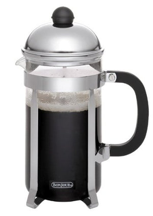 BonJour 8- Cup Monet French Press, Silver