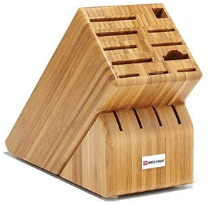 Wusthof 15-Slot Bamboo Knife Block