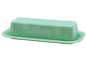 Tablecraft Jadeite Butter Dish