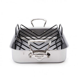 Mauviel Roasting Pan w/Rack