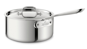 All-Clad Stainless Sauce Pan, 3 Qt.