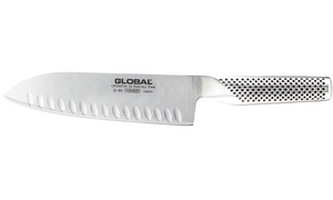 Global Santoku Hallow Ground, 7""