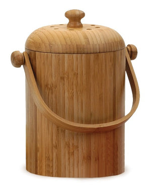 RSVP Bamboo Compost Pail
