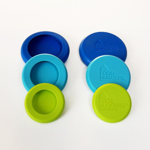 Food Huggers Silicone Storage, Set of 6 small size