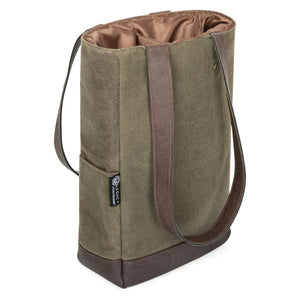 Insulated Wine Cooler Bag, 2 Bottle