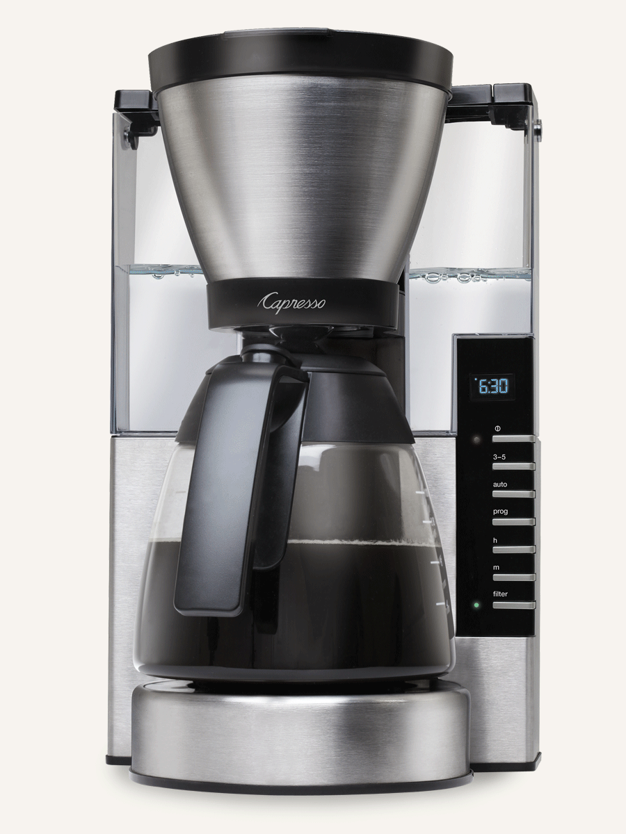 Capresso 10-Cup Rapid Brew Coffee Maker MG900