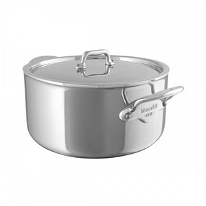 Mauviel Stainless Steel Stewpan 6.4 qt