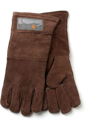 Outset Leather Grill Gloves, Brown