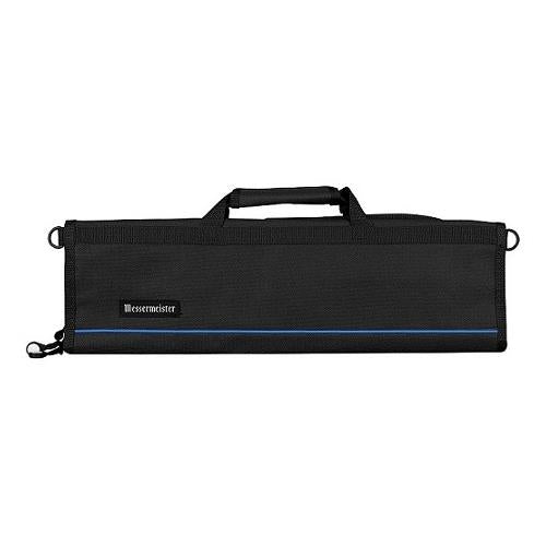 Messermeister 8 Pocket Black Padded Knife Roll Bag