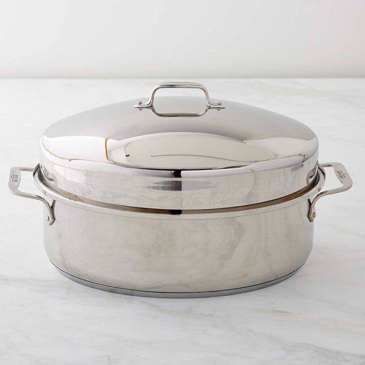 All-Clad Covered Oval Roaster w/ Rack