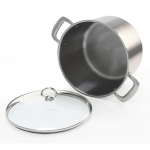 Chantal Stock pot w/Lid, 8qt