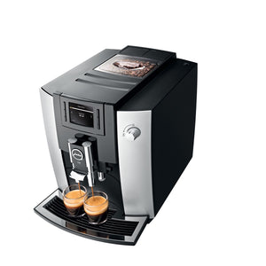 JURA E6 AUTOMATIC COFFEE MACHINE, PLATINUM - (SHIPS IN 3-5 DAYS)