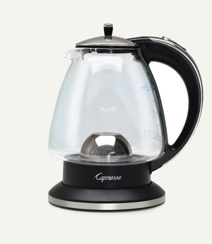 Capresso H2O Glass Rapid-Boil Water Kettle