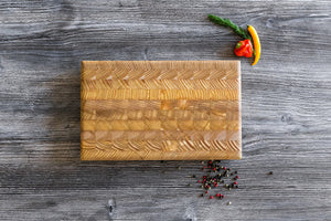 "Larchwood End-Grain Cutting Board, 12.5"" x 7.75"""