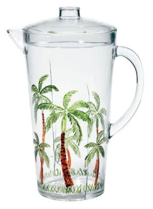 Acrylic Pitcher, Palm Breeze