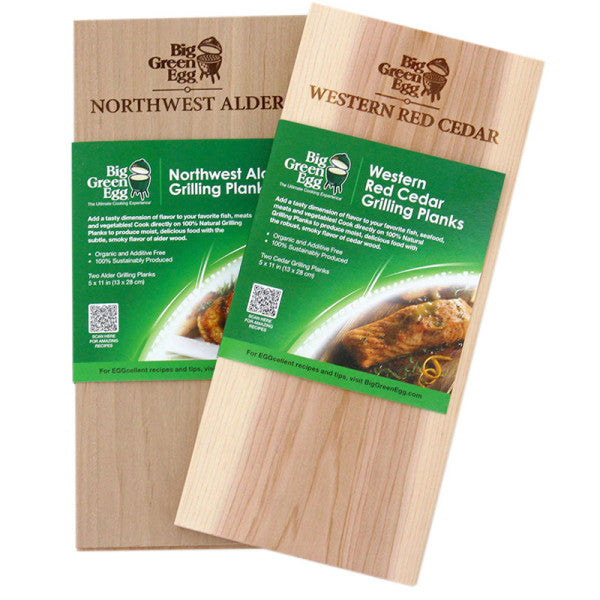 Big Green Egg Cedar Grilling Planks