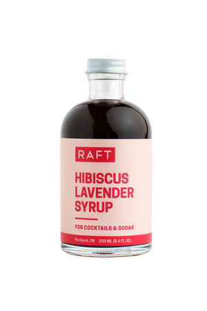 Raft Hibiscus Lavender Syrup