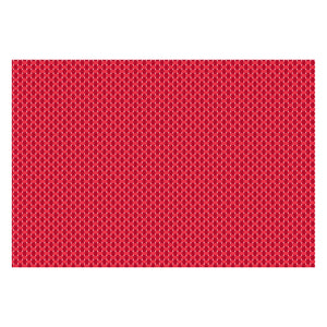 Ritz Placemat Solid Red