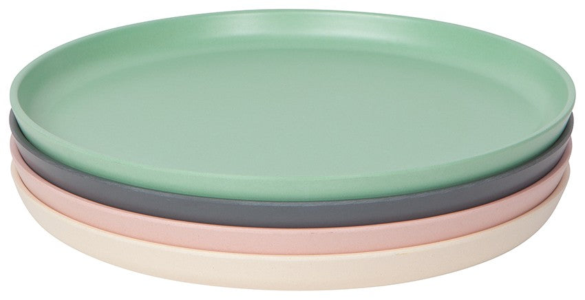 Now Design Tranquil Ecologie Plates, Set of 4