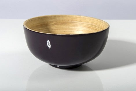 Bibol Small Bamboo Bowl- Purple