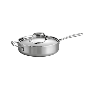 Tramontina Gourmet Covered Deep Sauté Pan, 3 Qt.