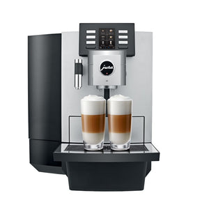 JURA X8 AUTOMATIC ESPRESSO MACHINE, PLATINUM