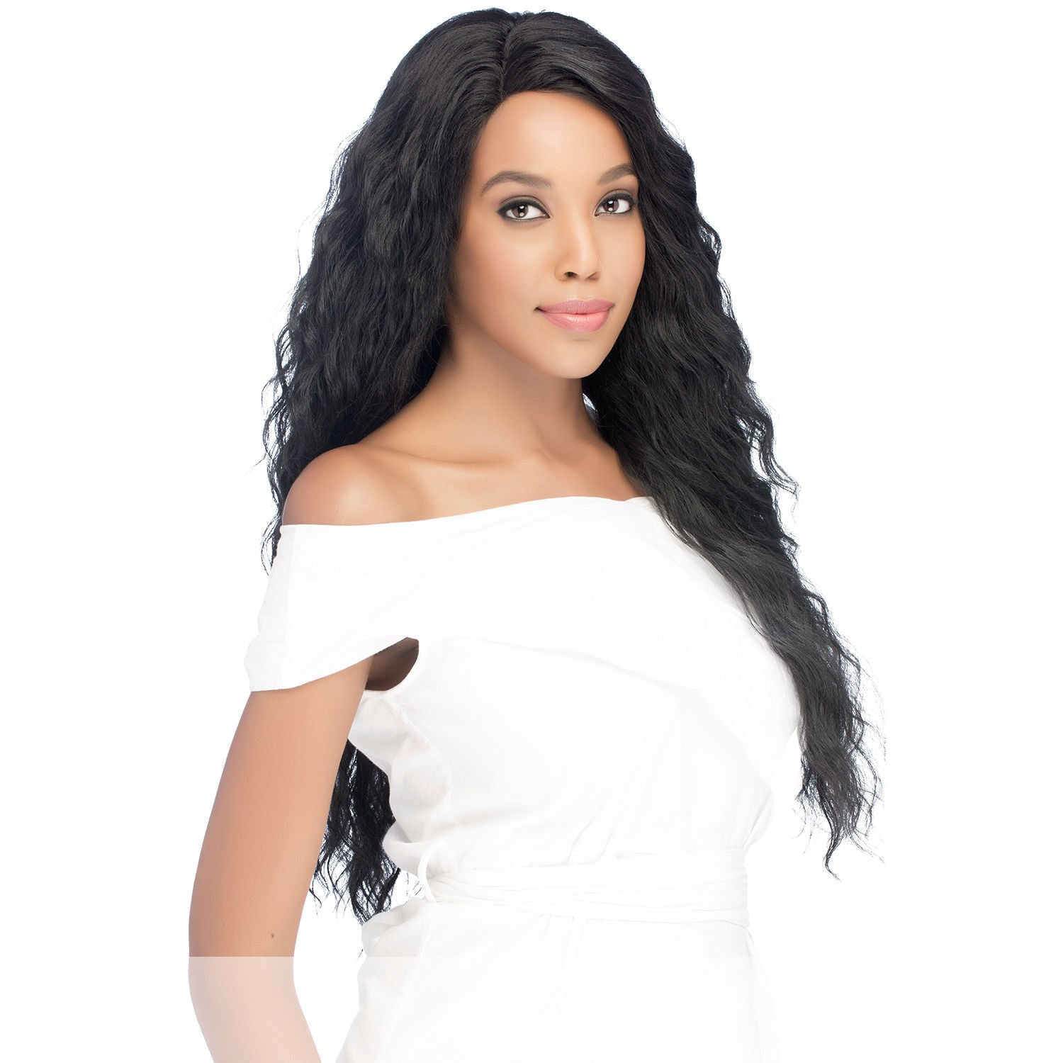 Amore Mio (Al-yoana) - Heat Resistant Fiber Swiss Lace Front Wig