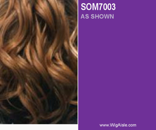 FA Fashion (Jennifer) - Heat Resistant Fiber Full Wig