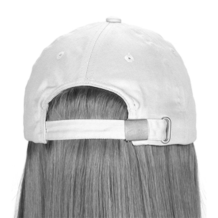 Henry Margu (Curly Hat Black) - Synthetic Baseball Cap Wig