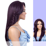 Motown Tress (HBSL.dory) - Human Hair Blend Lace Front Wig in T27/613 [OVS]