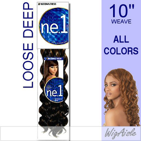 NLDW-10 by Motown Tress - Weave and Bulk in color 1