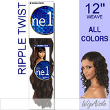 NRTW-12 by Motown Tress - Weave and Bulk in color 1