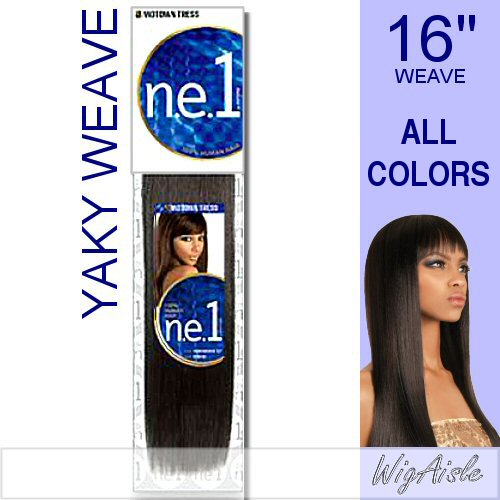 NYW-16 by Motown Tress - Weave and Bulk in color P4_30