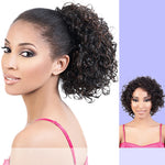 Motown Tress (TIO-120) - Synthetic Half Wig & Ponytail